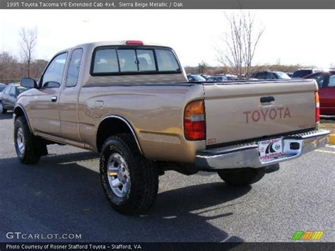 1995 Toyota Tacoma 4x4 1995 Toyota Tacoma V6 Extended Cab 4x4 In Beige