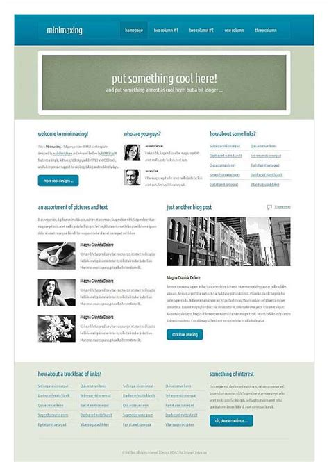 best dreamweaver templates top free corporate dreamweaver templates css menumaker