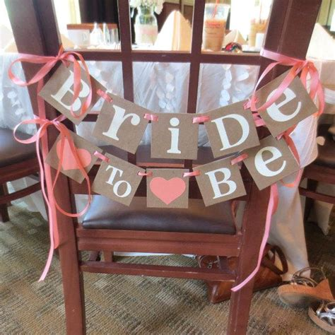 bridal shower decorations home 2 bridal shower decoration banner to be chair sign to be small banner wedding