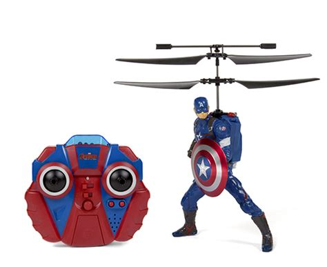 Rc Captain America dc comics and marvel 2ch ir rc helicopter 6