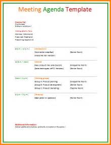 html agenda template 11 business meeting agendas letter template word