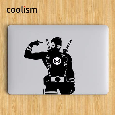 Apple3 Stiker Laptop 11 12 14 15 Inch Garskin Laptop Setiker nifty deadpool superheroes laptop decal sticker for