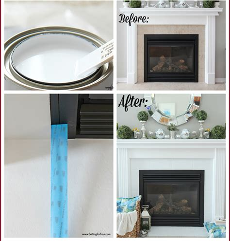 tile fireplace makeover fireplace makeover for a tile surround