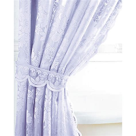 windsor lace curtains windsor lace shower bath curtains single and double cream