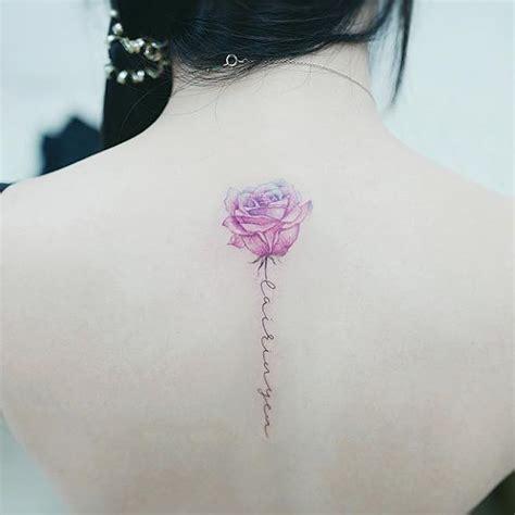 tattoo flower with stem handwritten note for stem tattoos pinterest