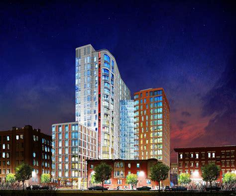 northeastern housing northeastern university cube 3 studio architecture interiors planning