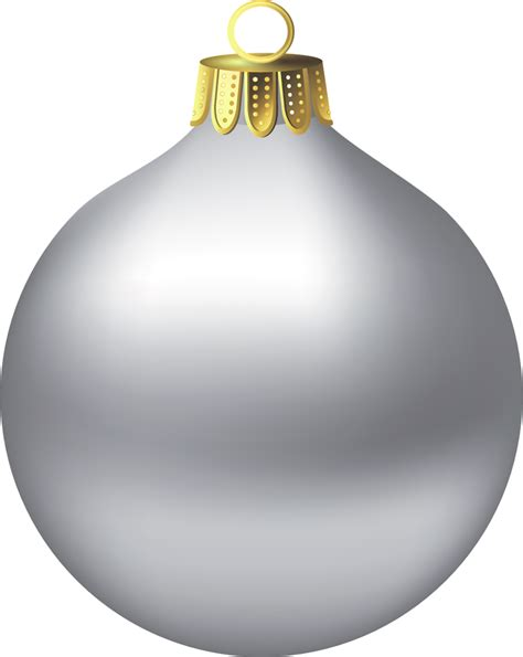silver ornament clipart