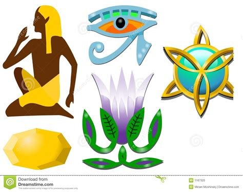 imagenes simbolos egipcios s 237 mbolos egipcios