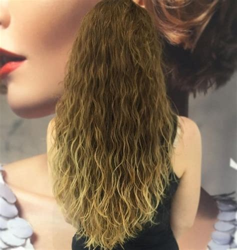 best beach wave spray for permed hair 10 modern looks that ll convince you to rock a loose perm