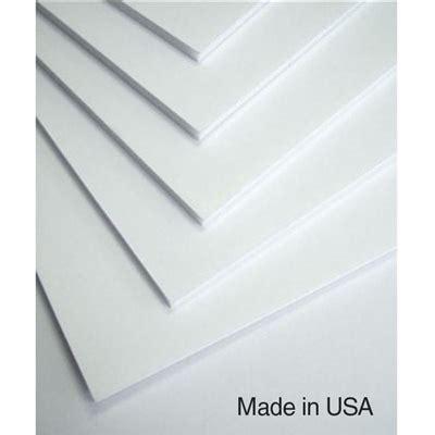 Hartboard Foam Core Board - (4' x 8') - [Box of 25 Sheets] .25 Acrylic Sheets Wholesale