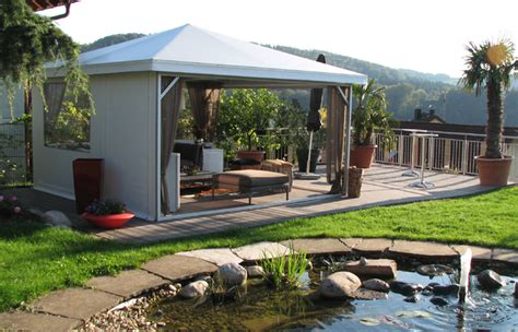 gartenpavillon festes dach pavillon festes dach mission wohn t raum wohnblog