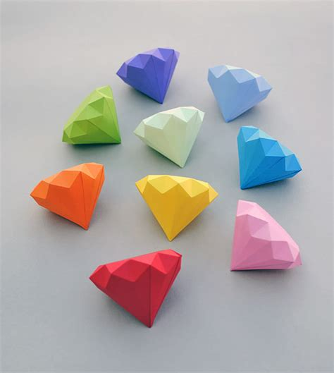 Mini Origami Hearts - 6 fabulous diy origami crafts handmade