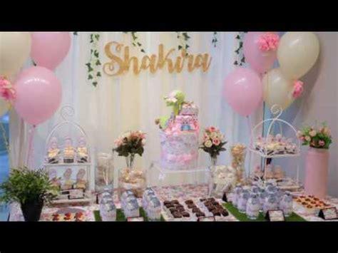 sweet garden theme baby shower  nanakodesign youtube