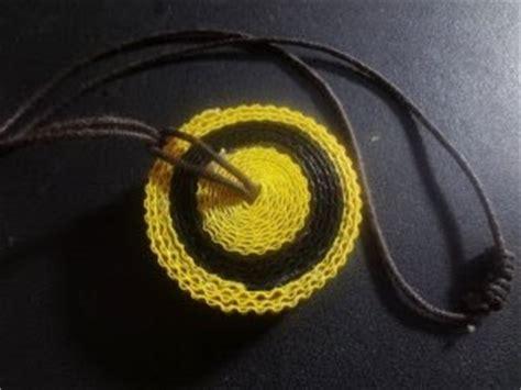 Set Kalung Dan Liontin Hati Bertuliskan hasil produk daur ulang membuat kalung dari kertas bekas