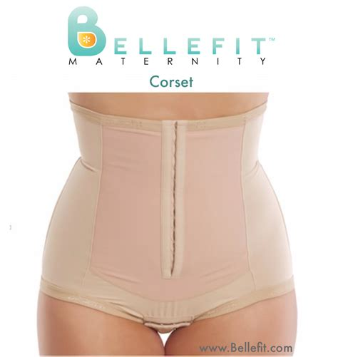 Post Baby With Bellefit Quot The Bellefit Dual Closure by Bellefit Corset Postpartum Belly Third Trimester And