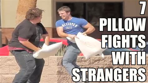 Pillow Fight With Strangers by 7 Pillow Fights With Strangers Craveonline