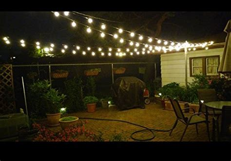 Outdoor Market Lights 25ft G40 Globe String Light Set Ul Listed Outdoor Market Import It All