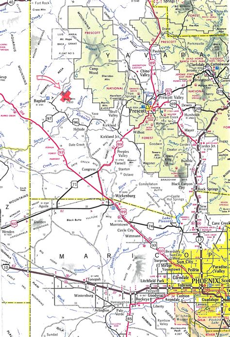 Wood County Property Tax Records 160 Acres In Yavapai County Arizona