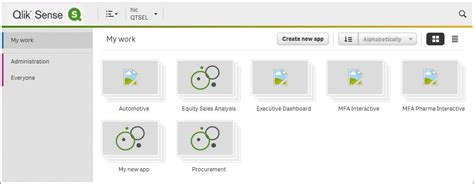 qlik sense server tutorial getting started with the app creation learning qlik