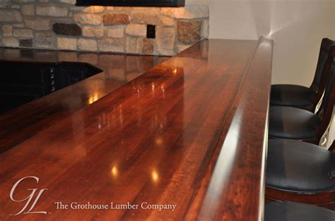 bar with granite top maple wood bar top in churchville maryland by grothouse