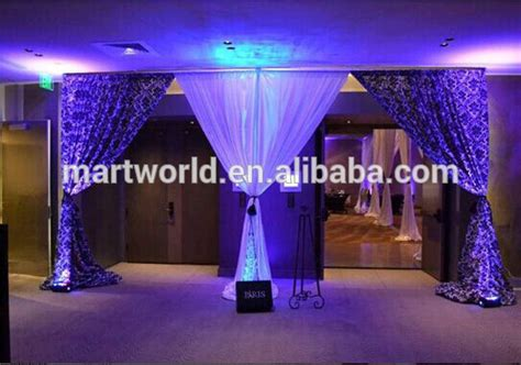 event drapes for sale event wedding aluminum backdrop stand pipe drape pipe and