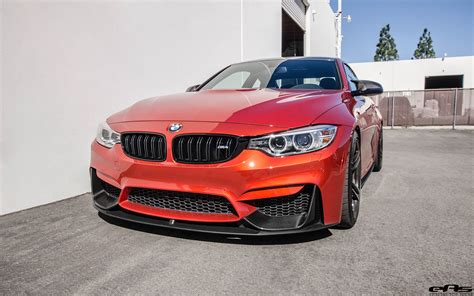 Bmw Orange by Sakhir Orange Bmw M4 With M Performance Goodies
