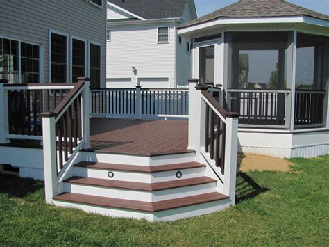gazebo deck trex deck with screened gazebo create your space