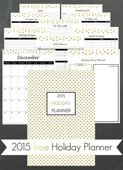 christmas planner 2015 free printable ioanna s notebook 2015 free printable holiday planner