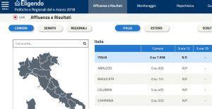 ministero dell interno risultati elettorali elezioni 2018 diretta affluenza e risultati sul sito