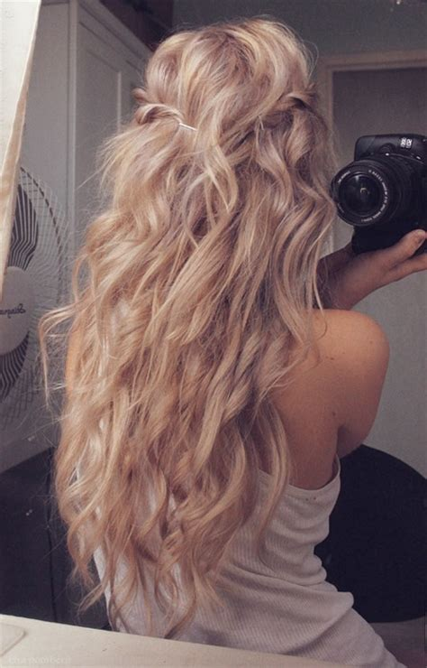 long blonde hairstyles tumblr girls hairstyles idea casual long rippling blonde waves