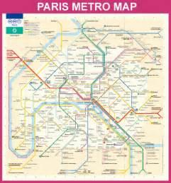 Paris Metro Map English by Paris Metro Map In English Submited Images
