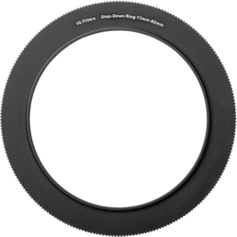 62 77mm Step Up Ring vu filters 62 77mm step up ring vstr7762 b h photo