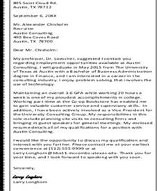 sle thank you letter to recruiter 6 exles in word