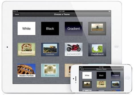theme keynote ipad free keynote the best presentation app for ipad and iphone