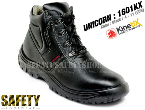 Sepatu Boots Garsel sepatu safety unicorn 1601kx sepatusafetyshoes