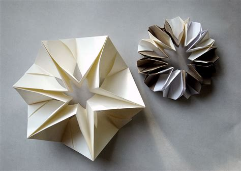 Folded Origami - folded paper forms