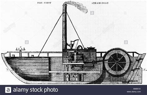 first steam boat the charlotte dundas the first steam boat built by william