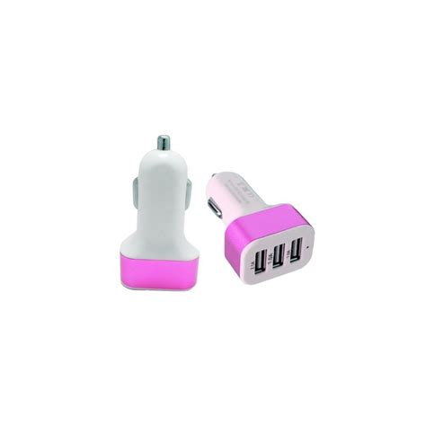 Port Usb Voiture Allume Cigare by Adaptateur Allume Cigare 3 Ports Usb Voiture T 233 L 232 Phone