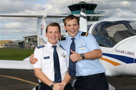 golding named top aviation student massey university