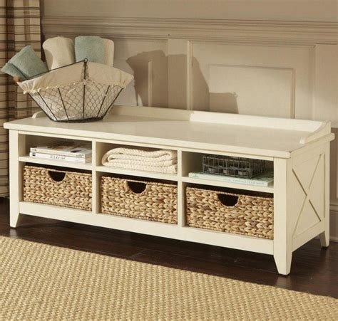 Entryway Table With Baskets Ideas For Transforming Your Entryway Storage Decor