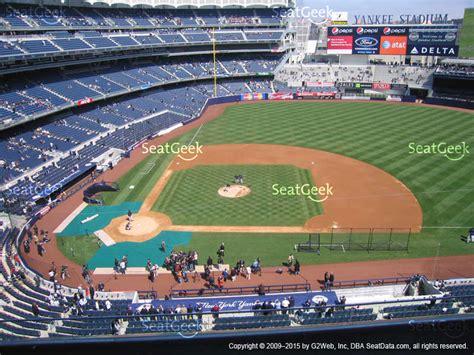 yankee stadium terrace level 316 seat views seatgeek