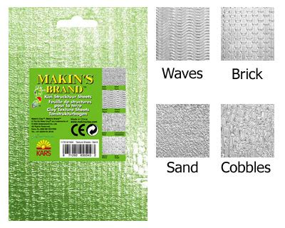 Makins Texture Sheet Set B makins clay texture sheets set a 163 4 25 ejr lwork polymer and ceramic