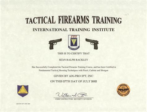 Firearms Training Certificate Template Radiofixer Tk Ccw Certificate Templates