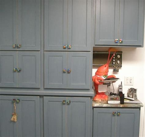 Kitchen With Custom Mosaic Glass Cabinet Hardware By Uneek Traditional Kitchen Cabinet Handles
