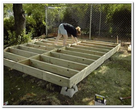 Garden Shed Foundations by Foundation For Small Storage Shed Storage Sheds Best Storage Carpentry