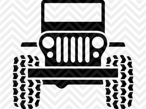 jeep vector jeep jeep wrangler svg and dxf cut file png