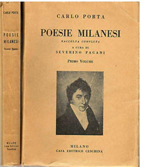 poesie milanesi di carlo porta storie milanesi nascosta lettera mai letta di