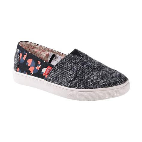 Sepatu Murah Wakai Slip On Wanita Ungu jual wakai wak slw11617 hsgmdrooster sepatu wanita black harga kualitas terjamin