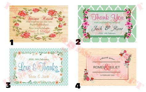 Kartu Ucpan Terima Kasih 1 contoh greeting card menggunakan bahasa inggris contoh aneka
