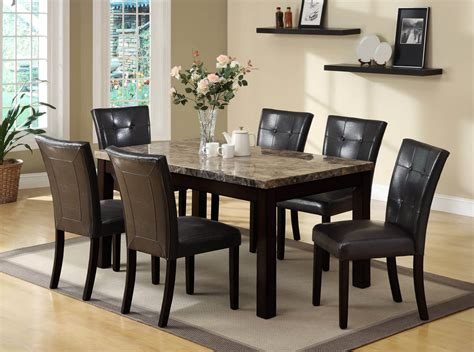 Espresso Dining Room Furniture Bruce 5 Pc Espresso Dining Set Dining Furniture Room Sets